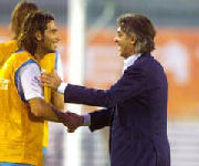 Daniele Adani e Massimo Moratti