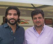 Daniele Adani e Silvio Baldini Vicenza 2011