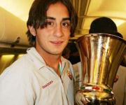 Aquilani con la Coppa Italia 2007