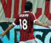 Alberto Aquilani AC Milan maglia numero 18