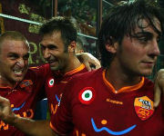 Aquilani, De Rossi e Vucinic
