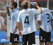 time out nella finale delle Olimpiadi Argentina-Nigeria