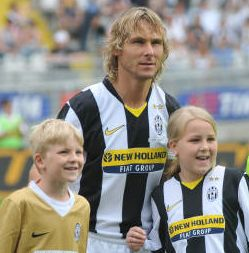 Addio al calcio Pavel Nedved