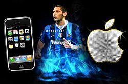 Marco Materazzi Applicazione Apple iPhone