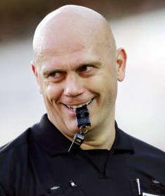 Arbitro Tom Henning Ovrebo