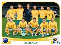 Figurina Panini Australia Mondiali 2010