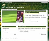 Biglietti partite Euro 2012 Uefa Ticketing
