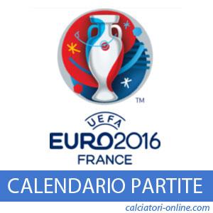 Europei 2016 calendario partite date orari