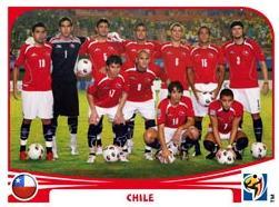 Figurina Panini Cile Mondiali 2010