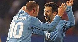 Confederations Cup Italia-USA: Giuseppe Rossi e Daniele De Rossi