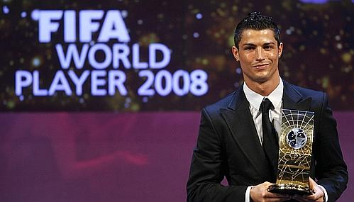 Cristiano Ronaldo Fifa World Player 2008