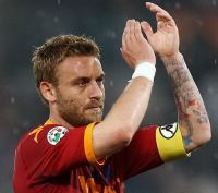 Daniele De Rossi Roma fascia capitano