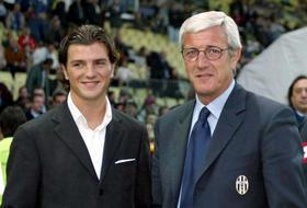 Davide Lippi col papà Marcello Lippi