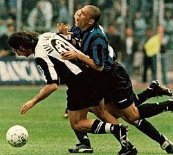 Fallo Mark Iuliano su Ronaldo Juve-Inter 26/04/1998