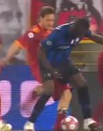 Fallo Totti su Balotelli - Finale Coppa Italia 05/05/2010