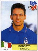 Roberto Baggio: Figurina Panini Usa 94