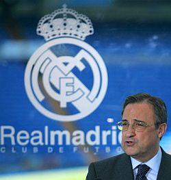 Florentino Perez, presidente Real Madrid