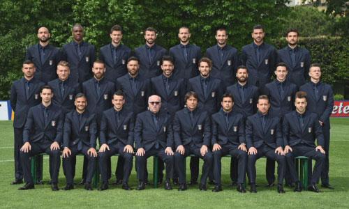 Foto nazionale italiana calcio divisa Ermanno Scervino