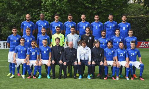Foto Italia divisa gara Puma Europei 2016 calcio
