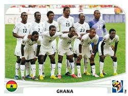 Figurina Panini Ghana Mondiali 2010