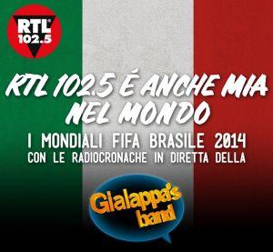 Noi Dire Gol Mondiali 2014 Gialappa's Band RTL 102.5