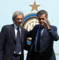Giuseppe Baresi e Jose Mourinho