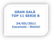 Rimini Gran Galà Top 11 Serie B 2010/2011