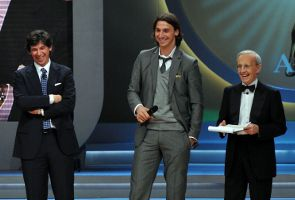 Zlatan Ibrahimovic Oscar del Calcio 2009