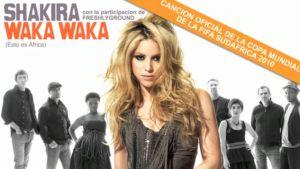 Canzone Mondiali 2010: Shakira ft. Freshlyground: Waka Waka (This Time for Africa)