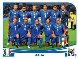 Figurina Panini Italia Mondiali 2010
