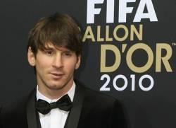 Lionel Messi Pallone d'Oro 2010