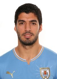 Luis Suarez Uruguay calcio