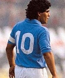 Diego Armando Maradona Maglia Numero 10