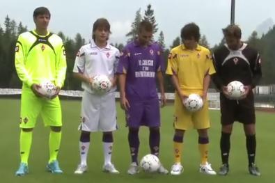Maglie Fiorentina 2010 - 2011