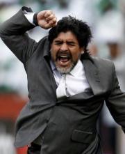 Maradona ai Mondiali 2010