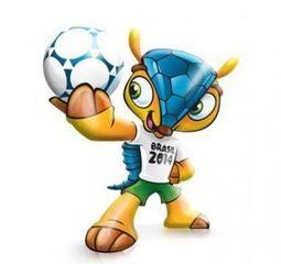 Mascotte dei Mondiali di Calcio 2014 Fuleco