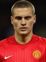 Nemanja Vidic Manchester Utd