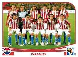 Figurina Panini Paraguay Mondiali 2010