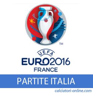 Europei 2016 partite Italia quando dove in tv