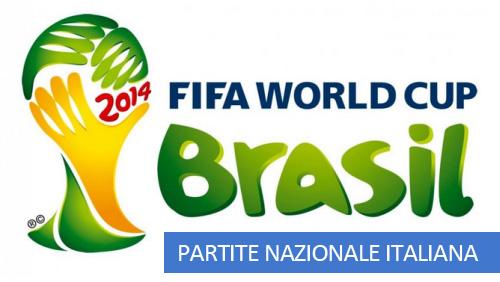Partite Italia Mondiali 2014 Brasile
