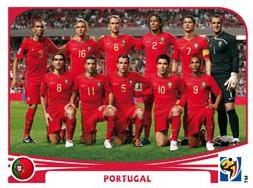 Figurina Panini Portogallo Mondiali 2010