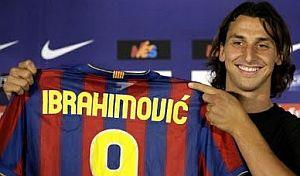 Zlatan Ibrahimovic al Barcellona