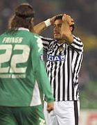 Fabio Quagliarella, Udinese - Werder Brema