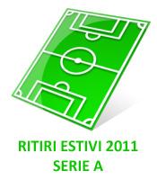 Ritiri squadre calcio Serie A estate 2011