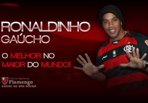 Ronaldinho Gaucho al Flamengo