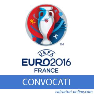 Rosa squadre Europei 2016 calcio