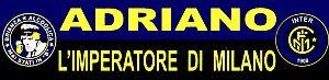 Sciarpa Inter Adriano Imperatore di Milano