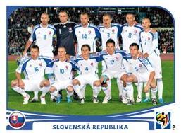 Figurina Panini Slovacchia Mondiali 2010