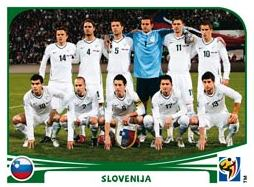 Figurina Panini Slovenia Mondiali 2010