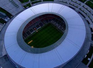 Stadio Donbass di Donetsk Ucraina